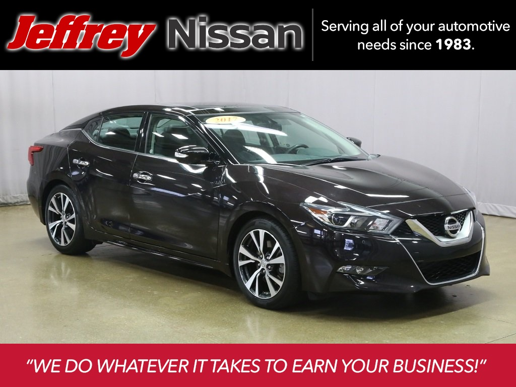 Certified Pre-Owned 2017 Nissan Maxima 3.5 SL
