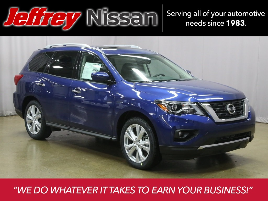 New 2019 Nissan Pathfinder SL 4D Sport Utility in ...